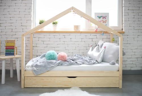 łóżko Housebed Klasyczny Plus Wersja Z Szufladą