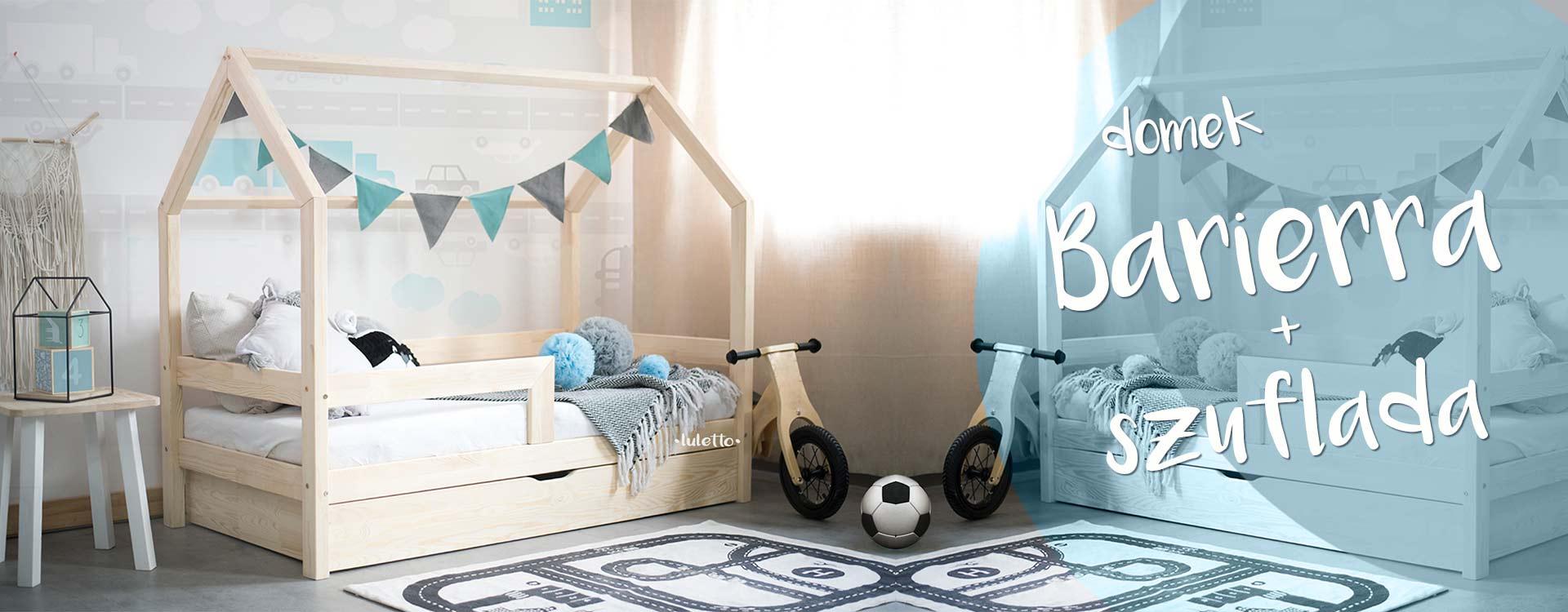 Lulettopl łóżeczka Domki Housebed